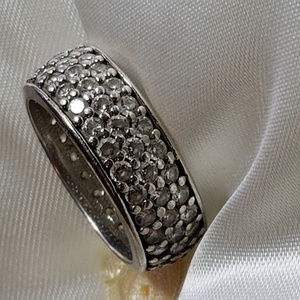 Eternity Dream RING 925 DQ Diamonique CZ Sterling